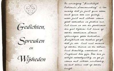 Gedichten, Spreuken en Wijsheden