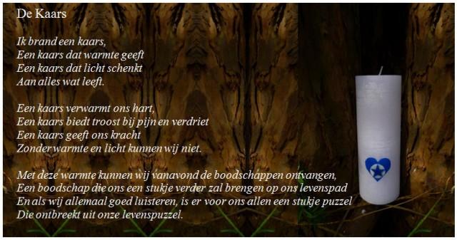 Gedicht-De Kaars